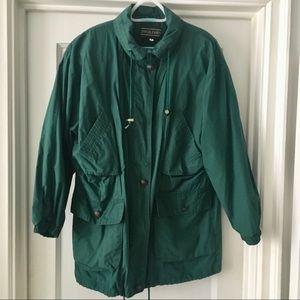 J. McLaughlin Cotton Mackintosh Utility Jacket
